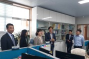 우승희 전라남도의회 교육위원장 해남학교지원센터 방문