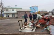 해남 마산면, 폐농기구 등 방치 고철 44톤 모아 판매