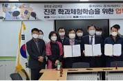 해남공고, 해남중·해남제일중 '진로직업체험학습' 위한 업무협약