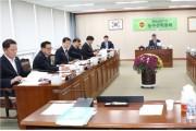 전남도의회 김성일 농수산위원장, 농축산식품국 행정사무감사