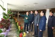명현관 해남군수, '국립에코식물원 유치' 대응전략 마련 분주