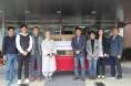 해남교육청 교직원 축구동아리, 장애인종합복지관에 대형TV 기증