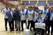 제2회 전라남도장애인생활체육대회, 해남군 좌식배구 '우승'