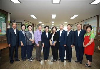 해남군의회, 추석맞이 복지시설 위문