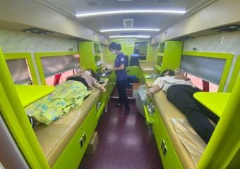 해남교육지원청, 사랑의 헌혈 실시