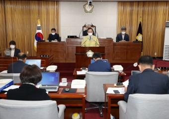 명현관 해남군수, 군의회 시정연설 내년군정운영방향 제시